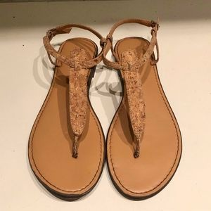 J. Crew Cork Sandal